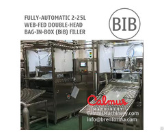 Fully Automatic Double Head Bib Filling Machine Bag In Box Filler