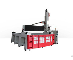 Rotary Cnc Foam Router 4 Axis
