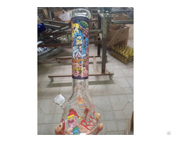 Beaker Glass Bong Manufacture Waterpipes Smoking Pipe