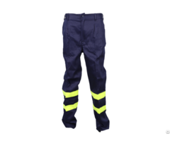 Men S Industrial Flame Retardant Trousers With Reflective Strips
