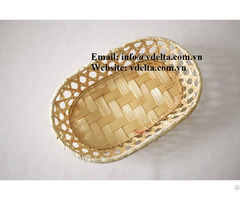 High Quality Export Bamboo Basket Vn