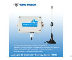 Iot103 Wireless Modbus Mqtt Analog Input Iot Sensor For 4 20ma