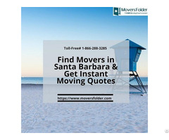 Find Movers In Santa Barbara And Get Instant Moving Quotes