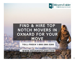 Find And Hire Top Notch Movers In Oxnard For Your Move