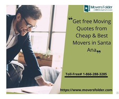 Get Free Moving Quotes From Cheap And Best Movers In Santa Ana