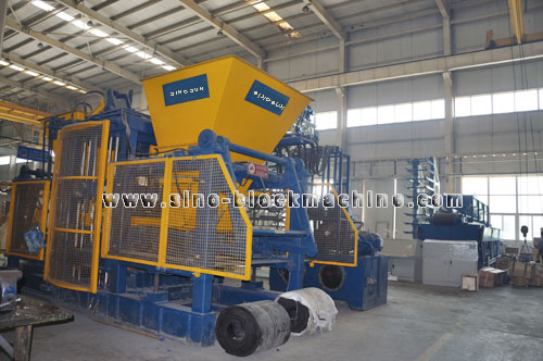 Concrete Block Machine 012