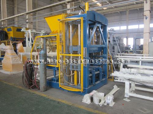 Concrete Block Machine 0021