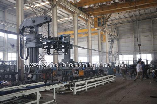 Concrete Block Making Machine 0026