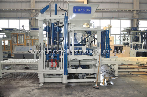 Qft 6 16 001concrete Block Making Machine