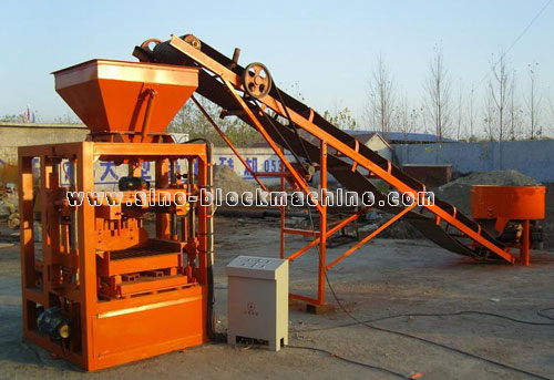 Concrete Block Making Machine 56