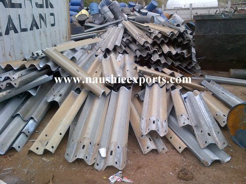 Enquiry About Highway Road Side Barrier Scrap