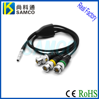 00b 0b 1b 2b 3b Lemo Compatible Metal Cirrular Connectors With Cables Assembly