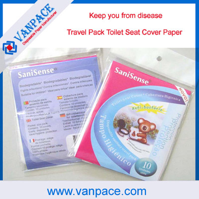 1 16 Fold Disposable Seat Cover Household Paper Toilet For Airport Restaurant Hotel Hospital