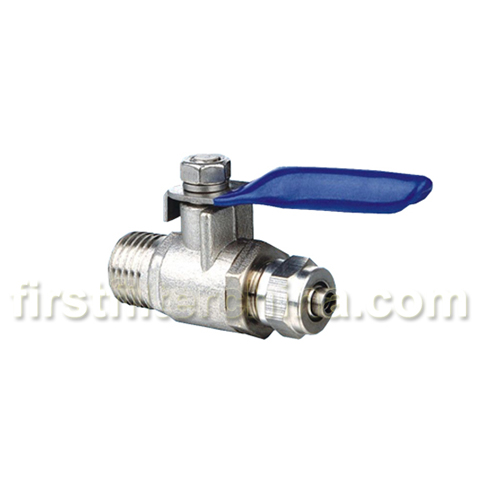 1 4 Adapter Ball Valve Water Filter Ro Reverse Osmosis Faucet Tap Feed