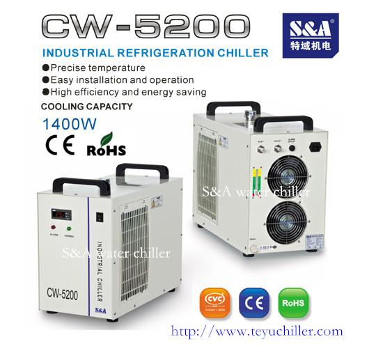 1 4kw Water Cooling System For Cnc Router Cw 5200