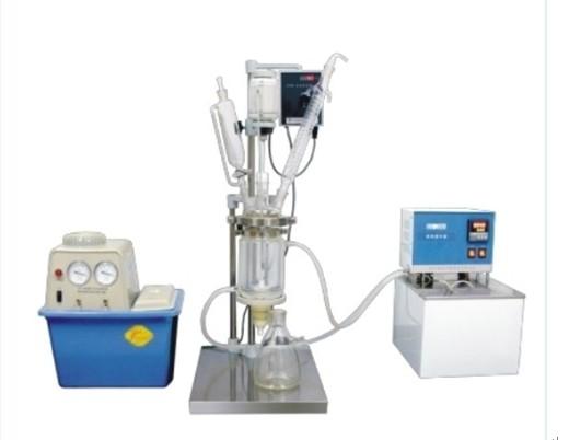 1 5l Vacuum Glass Reactor