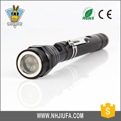 1 Years Warranty Shockproof Self Defence Telescopic Baton Flashlight For Wholesales