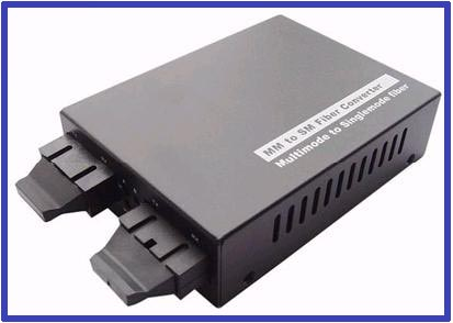 10 100 1000m Multirate Fiber Mode Converter