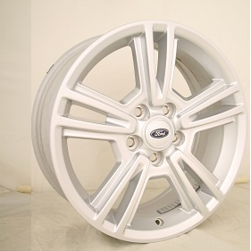 10 12 Ford Mustang Silver Split Spoke Wheels