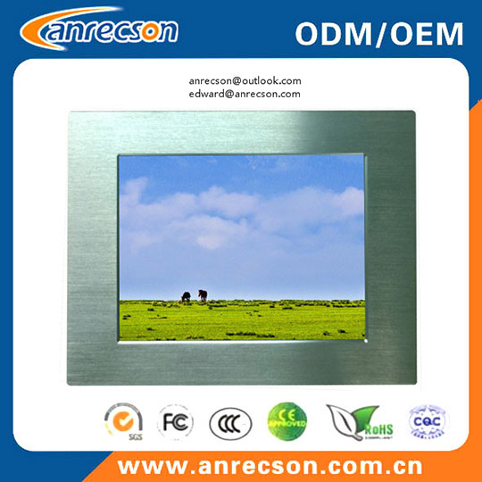 10 4 Inch Industrial Touch Embedded Mount Lcd Monitor