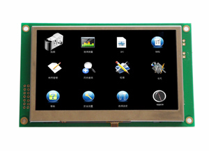 10 4 Industrial Lcd Display Module With Touch Screen Support Rs232 Rs485 Uart