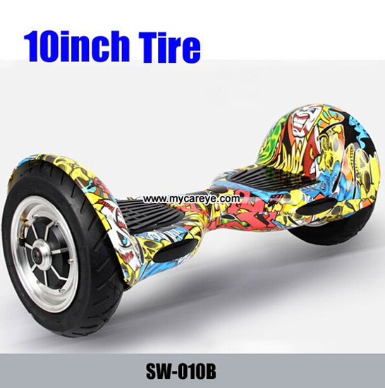 10 Inch Big Tire Electric Standing Scooter Two Wheel Smart