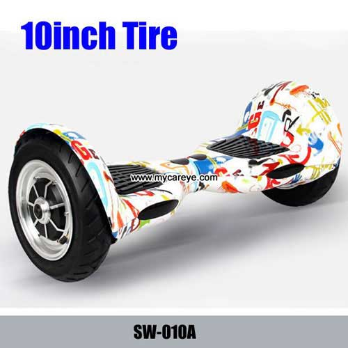 10 Inch Intelligent Self Balancing Electric Vehicle Being Shilly Car Wheel Drift Two