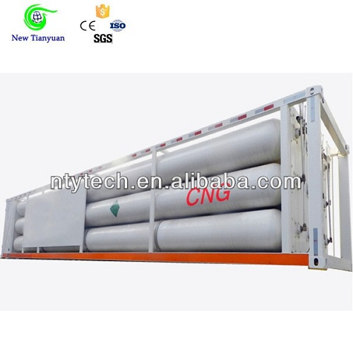 10 Tube 25mpa 22 1m3 Volume Cng Semi Trailer With Iso And Bv Certificate