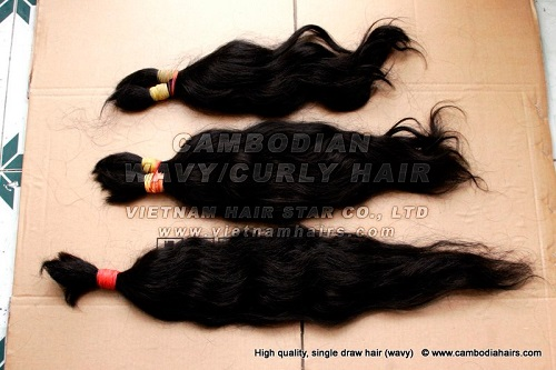 100 Cuticle Remy Virgin Cambodian Hair
