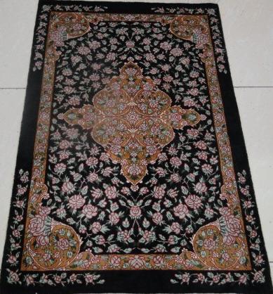100 Pure Silk Handmade Carpet Rug Persian Oriental