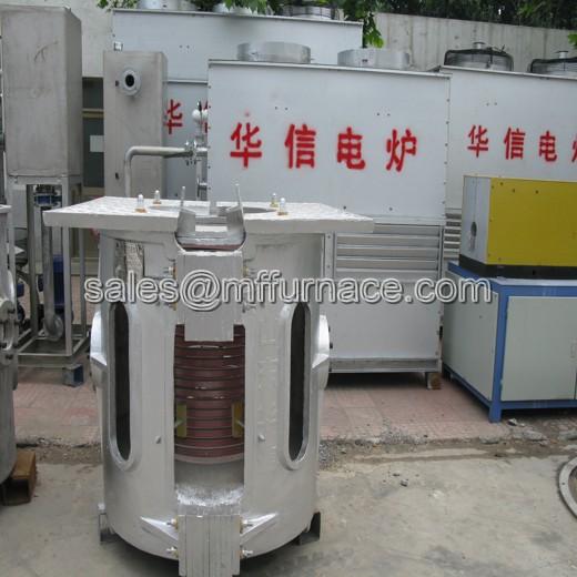 1000kg Aluminum Shell Induction Melting Furnace