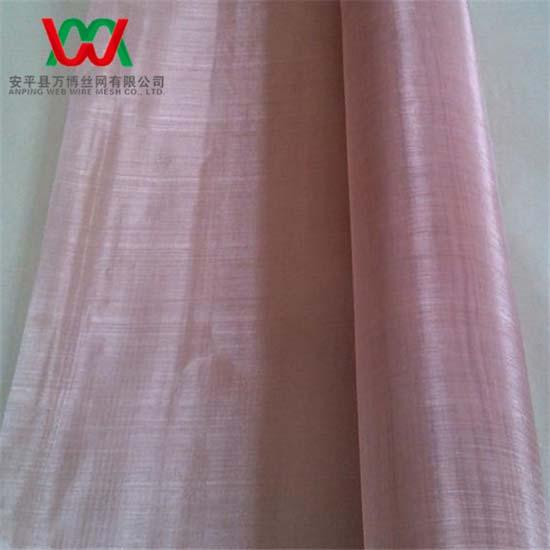100mesh Pure Copper Woven Wire Mesh Cloth 0 10mm 1 0m Wide