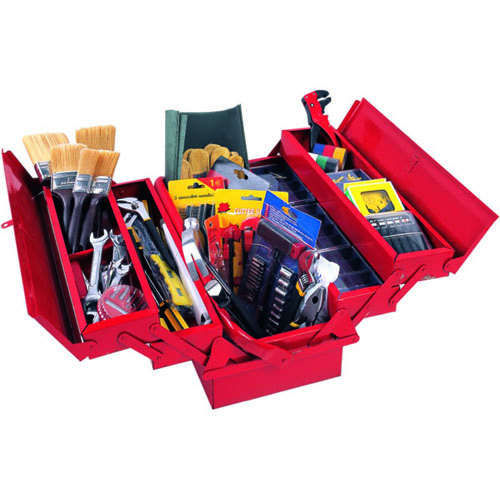 1010pc Tool Set Metal Box