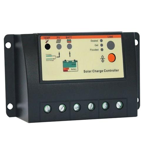 10a Solar Charge Controller Regulator 12 24v With Lighting And Timer Sensor