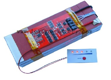 11 1v Li Polymer Battery Pack 10ah