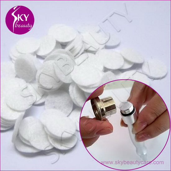 11mm Cotton Filters For Diamond Microdermabrasion