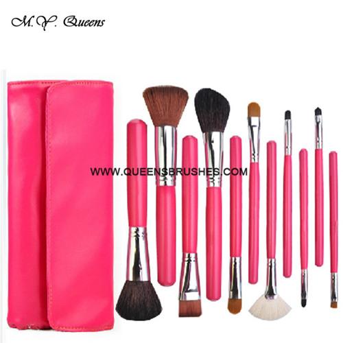 11pcs Makeup Brush Set Nail Brushes Cosmetic Powder Blush Foundation Kabuki