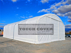 12 2m 40 Wide Fabric Structure Storage Building Warehouse Tent Portable Shelter