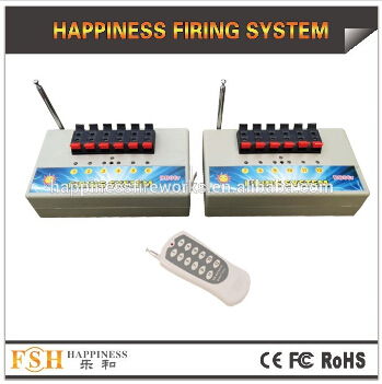 12 Channels Pyrotechnic Fire System Fcc Ce Certificate