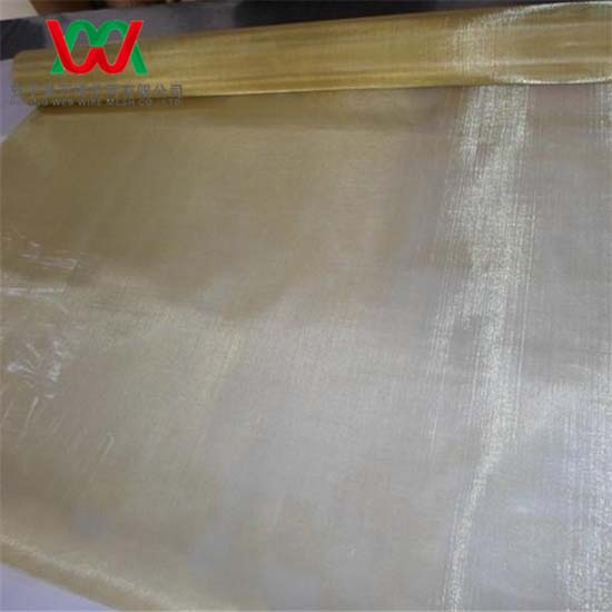 120mesh Brass Woven Wire Mesh Cloth 0 08mm 1m Wide