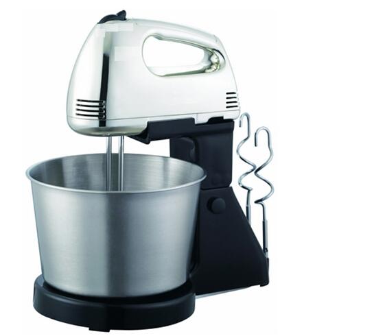 120watt Classic 2liter Stainless Steel Bowl Hand Mixer