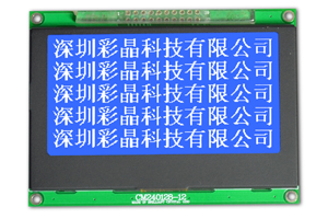 128x240 Lcd With Backlight Blue White Cm240128 12