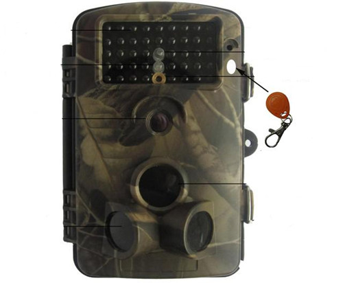 12mp Outdoor Pir Sensor Infrared Trail Camera With Audio Record Hd Video Series