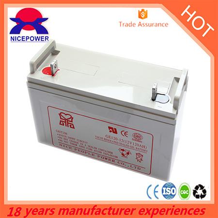 12v120ah Gel Battery