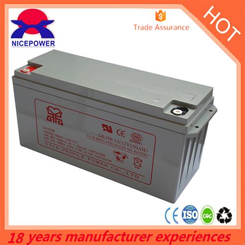 12v150ah Gel Battery