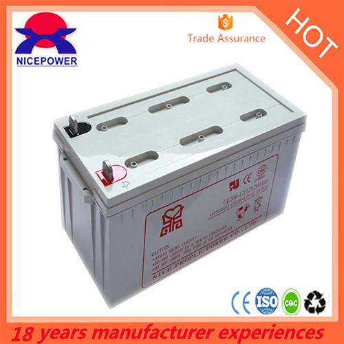 12v200ah Gel Battery