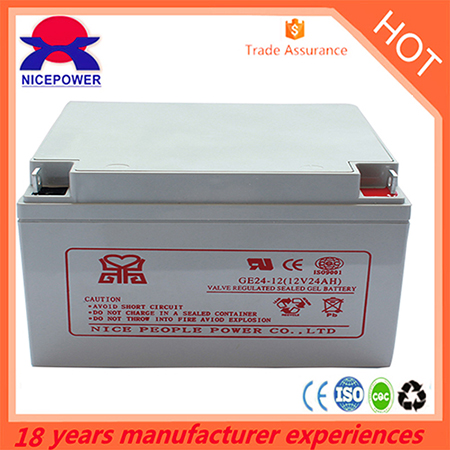 12v24ah Gel Battery
