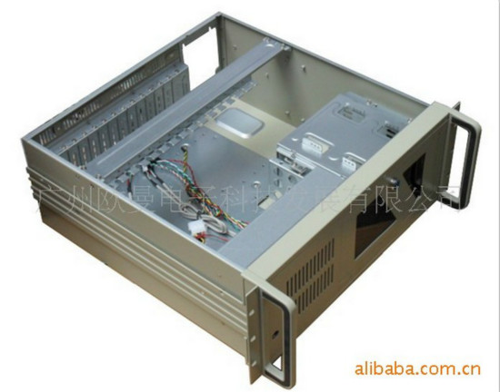 14 Slots Back Plate 4u Industrial Chassis