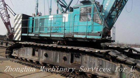 150 Ton Used Kobelco Crawler Crane