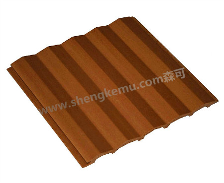 150 Triangle Board Wood Plastic Composite Material Pvc Flooor High Environmental Protection And Poll